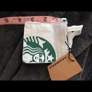 Starbucks mini tote gift card tote